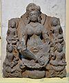 Vajra Sarada - Basalt - Pala Period Circa 8th Century AD - Nalanda - Archaeological Museum - Nalanda - Bihar - Indian Buddhist Art - Exhibition - Indian Museum - Kolkata 2012-12-21 2353.JPG