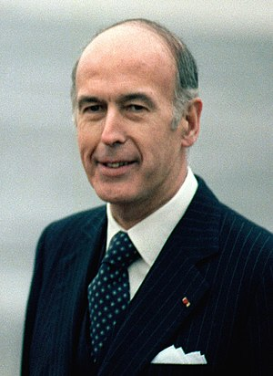 1st G6 summit - Image: Valéry Giscard d'Estaing 1978