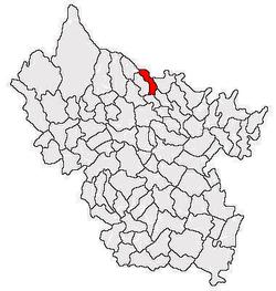 Vị trí của Valea Salciei