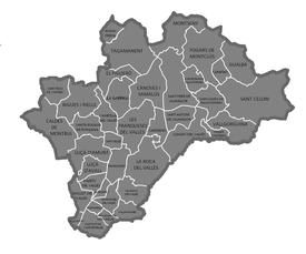 Vall s oriental wikipedia la enciclopedia libre - Casas en el valles occidental ...