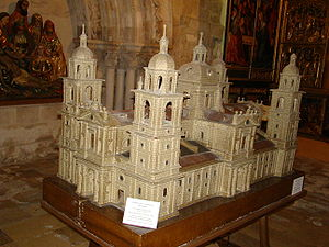 Valladolid Cathedral - Scale Model of Herrera's original design.