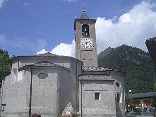 Valprato Soana Comune in Piedmont, Italy