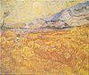 Van Gogh - Weizenfeld hinter dem Hospital Saint-Paul (Die Ernte).jpeg