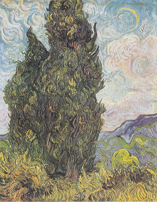 Van Gogh - Zypressen