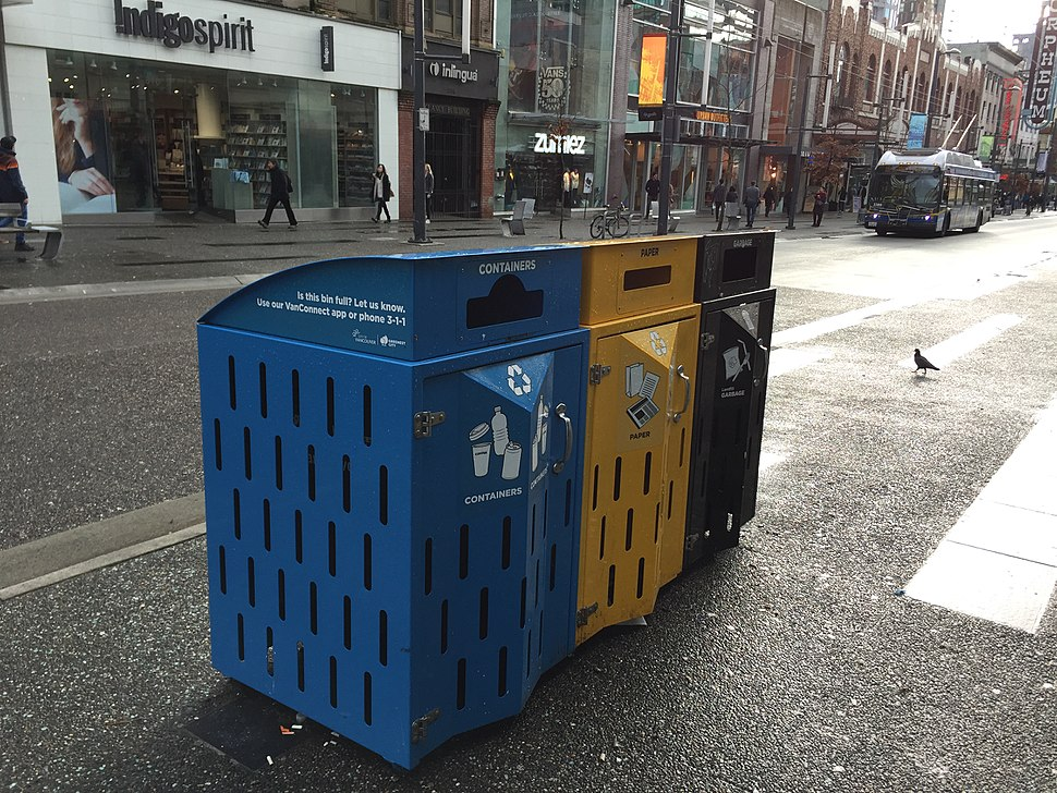 Vancouver street recycling