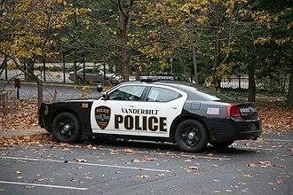 Vanderbilt University - Vanderbilt University police car.