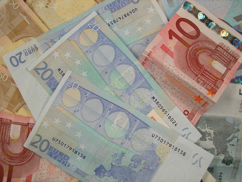 Euro banknote - foto di Lionel Allorge