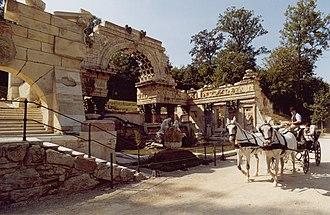 Folly - Roman ruin, Schönbrunn, Austria