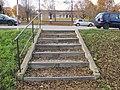 Venkovní schodiště v Mostě 03.JPG