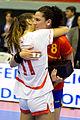 Verónica Cuadrado y Beatriz Escribano - Jornada de las Estrellas de Balonmano 2013 - 01.jpg