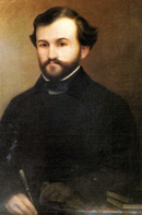 portrait of a young man with neat brown beard
