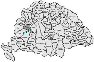 Veszprém County (former) former administrative county in Hungary (Veszprém County before 1950)