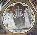 Via angelica, oratorio di s. urbano, volta, allegorie della venuta di cristo, xiv sec. 06 2.jpg
