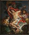 Vicente López y Portaña (Spanish - Saint Sebastian Tended by Saint Irene - Google Art Project.jpg