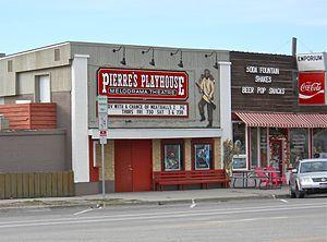 Victor, Idaho - Image: Victor Idaho Theatre