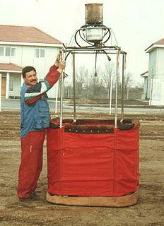 Victor Zagainov Hot Air Balloon pilot and astronomer from Kazakhstan
