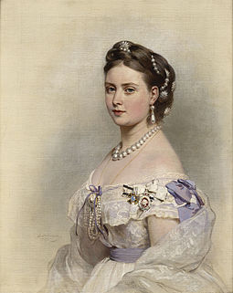 Victoria, Princess Royal--eldest daughter of Queen Victoria of the United Kingdom--whom Frederick married in 1858 Victoria, Princess Royal.jpg
