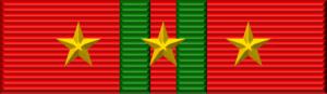 Feat Order - Image: Vietnam Feat Order ribbon