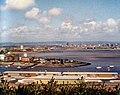 View across Penarth Flats towards Cardiff, 1986 - geograph.org.uk - 904723.jpg