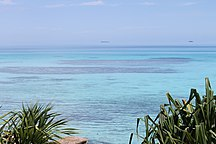 Tuvalu-Tourism-View from Hotel room