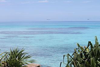 Vaiaku Lagi Hotel - Funafuti lagoon