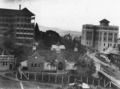View of Brisbane General Hospital with number 14 ward in the foreground, circa 1934.tiff