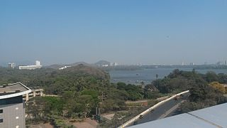 Powai Lake from Emerald Isle