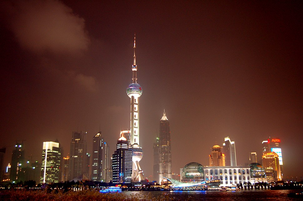 View of Pudong(Shanghai)