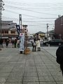 View of Sando in front of Toyouke Grand Shrine 20140203.jpg