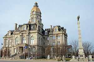 Vigo County Courthouse in Terre Haute, Indiana
