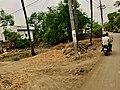 Vijayawada-Amaravathi road in Borupalem 2.jpg