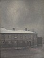 Vilhelm Hammershøi - A Wing of Christiansborg Palace - KMS2052 - Statens Museum for Kunst.jpg