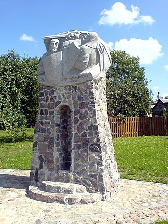Lithuanian Civil War (1432–1438) - Monument at the field of the Battle of Pabaiskas
