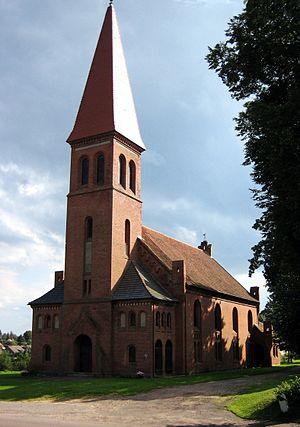 Vilkyškiai - Image: Vilkyškių bažnyčia