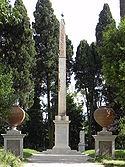 Biệt thự Celimontana Obelisk.JPG