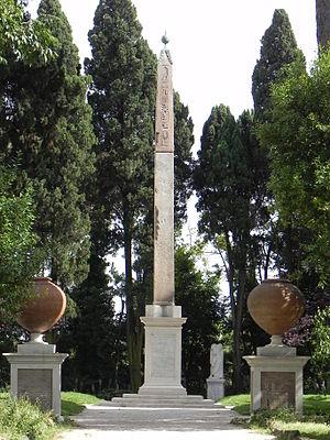 Villa Celimontana Obelisk.JPG