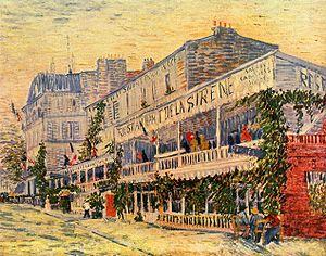 Restaurant de la Sirène à Asnières (1887)