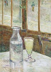 Vincent van Gogh: Café table with absinth