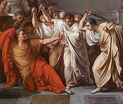 Vincenzo Camuccini, The Death of Julius Caesar (detail).jpg
