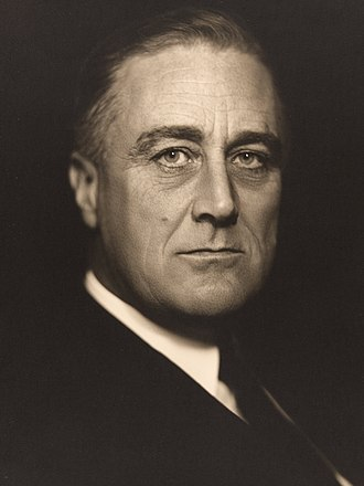 1932 Democratic National Convention - Image: Vincenzo Laviosa (Italian Franklin D. Roosevelt Google Art Project (3x 4 B)
