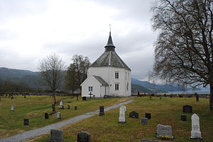 Vinje Church (Hemne) - Image: Vinje kirke (Hemne) 01