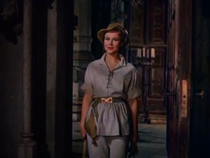 The Flame and the Arrow - Virginia Mayo in The Flame and the Arrow (1950)