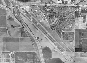 Visalia Municipal Airport, California.