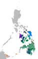 Visayan languages map.png