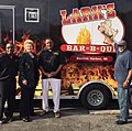 Visiting Lark's Bar-B-Que in Benton Harbor. (29988948530).jpg