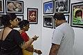Visitors At Inaugural Day - 45th PAD Group Exhibition - Kolkata 2019-06-01 1274.JPG
