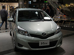Toyota Vitz (XP130) 5-door hatchback (Japan)