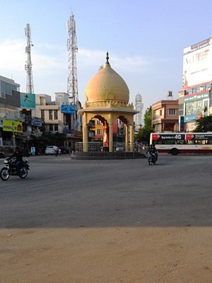 Swami Vivekananda - Vivekananda Circle, Mysore