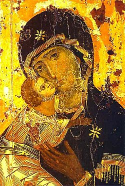 Theotokos of Vladimir - Wikipedia, the free encyclopedia