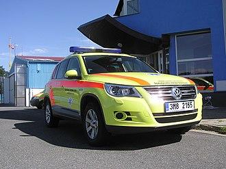 Nontransporting EMS vehicle - Image: Volkswagen Tiguan Zdravotnická záchranná služba Olomouckého kraje